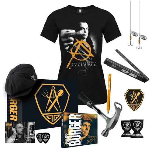 Philipp Burger - Kontrollierte Anarchie, ltd. Bundle (Box+Girl-Shirt)