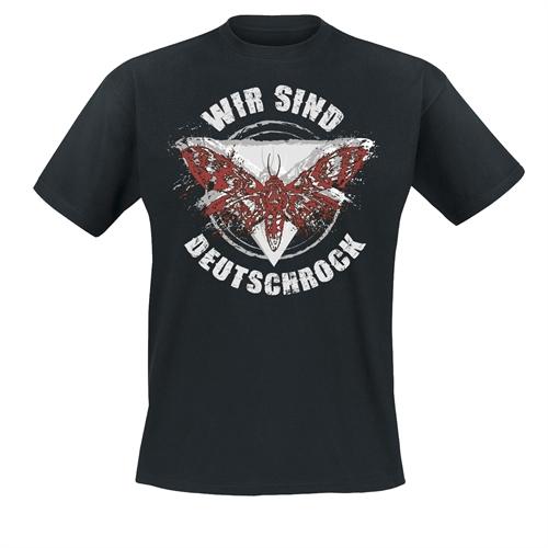 Wir sind Deutschrock - Falter, T-Shirt