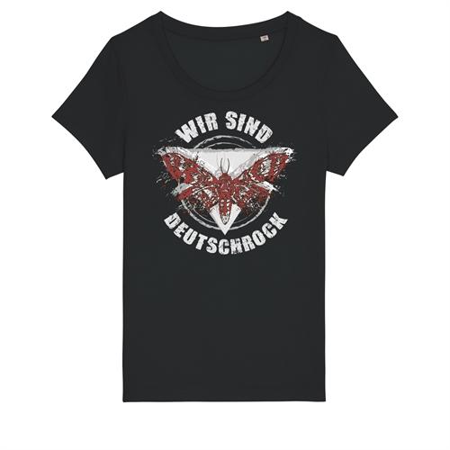 Wir sind Deutschrock - Motte, Girl-Shirt