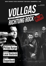 Vollgas Richtung Rock - Magazin Ausgabe 02/2021