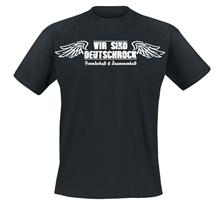 Wir sind Deutschrock - Freundschaft, T-Shirt