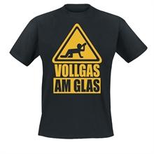 Vollgas Richtung Rock - Vollgas am Glas, T-Shirt